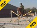 Piet RaijmakersAssisting Akihiko OkabePinoLinaKWPN 9 yrs. old Dutch MareTraining: 1.40 metersDuration: 40 minutes
